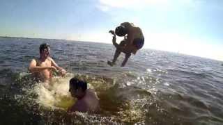 Невероятни професионални скокове във вода!!!