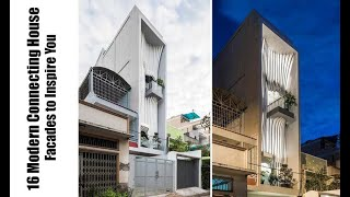 16 Modern  Connecting House Facades To Inspire You
