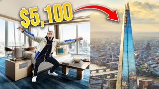 I Stayed At The MOST EXPENSIVE Hotel in London....