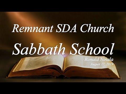 "Sabbath School Study: ""Jesus and Those in Need"""