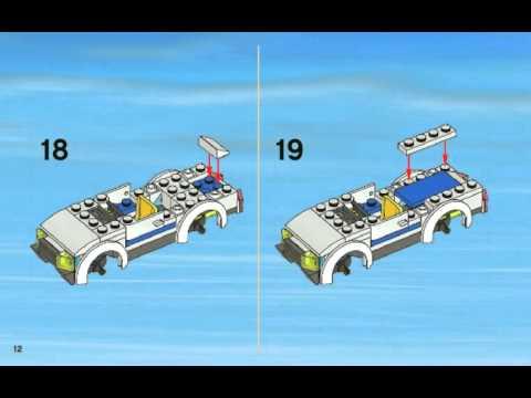 Инструкция по сборке lego Полицейский участок 7498