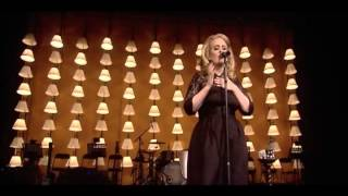 Adele - I Can't Make You Love Me (Live)