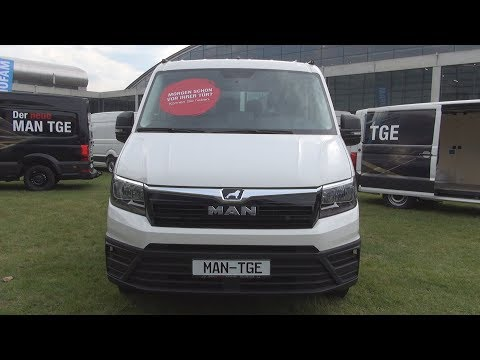 MAN TGE 3 180 High Roof Panel Van (2018) Exterior and Interior