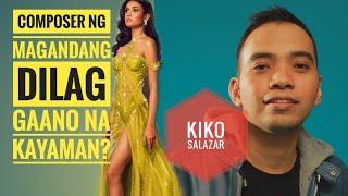 Gaano na kayaman ang composer ng 'Magandang dilag'?