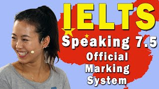 IELTS Speaking Band 7.5 Official Marking System Explained