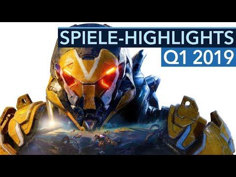 Top 10: Neue Spiele von Januar bis März 2019 für PC, PS4 & Xbox One - Game-Highlights 2019