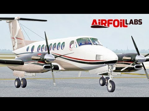 AirfoiLabs King Air 350 Extensive Look | X-Plane 11