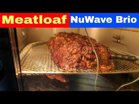 Meatloaf Recipe NuWave Brio 14Q Air Fryer Oven (14 Quart Air Fryer)
