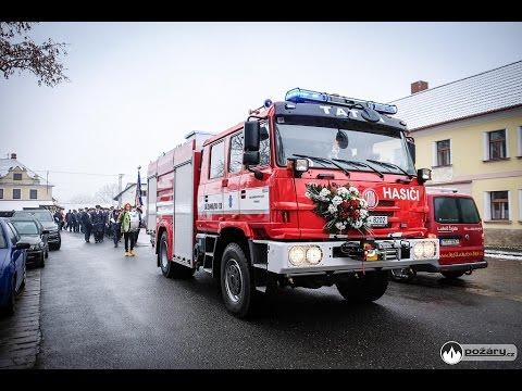 Slavnostní křest nové Tatry SDH Petrovice