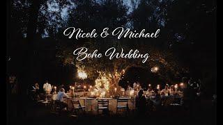 Nicole & Michael | Boho Wedding