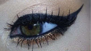 Semi-Affordable, Glam Eye Look W/Glitter! | From My Eyeliner Video