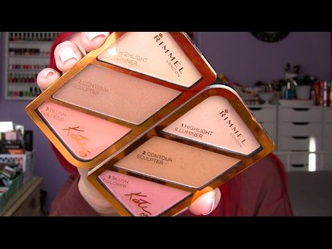 NEW Rimmel Kate Sculpting and Highlighting Kits | Review + Demo