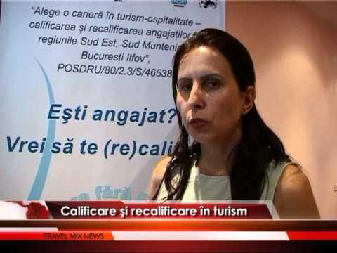 Calificare şi recalificare în turism – VIDEO