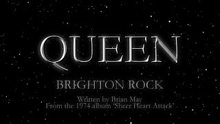 Queen - Brighton Rock (Official Lyric Video) - YouTube