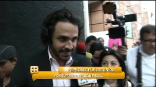 Pepe Díaz detenido por supuesta evasión fiscal