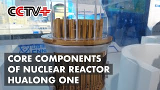 Core Components of Nuclear Reactor Hualong One Displayed at Beijing Nuclear Power Exhibition
