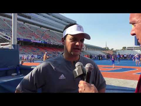 Neal Brown Postgame Interview - Boise State