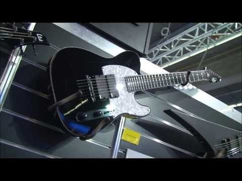 ESP E-II T-B7 Accustic and solo sounds