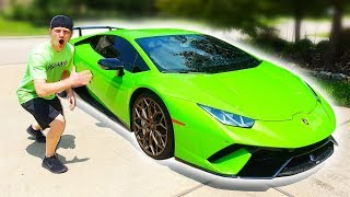 20 YEAR OLD BUYS $350,000 LAMBORGHINI HURACAN PERFORMANTE!