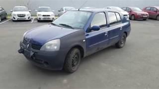 Продается Renault Symbol 2006 V-1.4 л МКПП требует ремонт за 139000 рублей