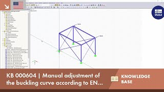 KB 000604 | Manual adjustment of the buckling curve according to EN 1993-1-1