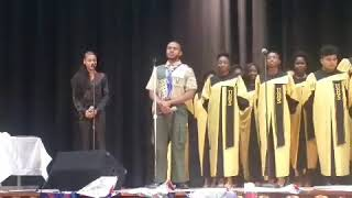 """""""Dare to Dream"""" by John Legend: Kwasi Hawthorne's Eagle Scout Ceremony"""