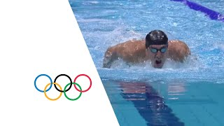 Men's Swimming 200m Butterfly Semi-Finals | London 2012 Olympics