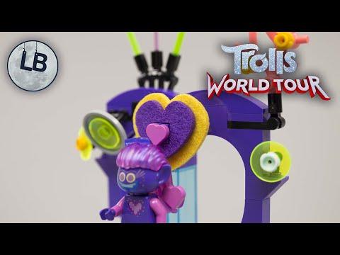 Vidéo LEGO Trolls World Tour 41250 : La soirée dansante de Techno Island