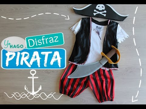 DIY - DISFRAZ PIRATA