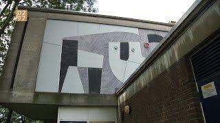 Kunstwerk Vinkeveen uitgezaagd en verplaatst