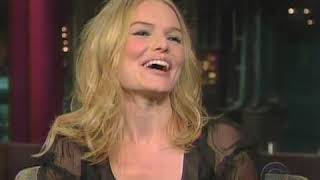 Kate Bosworth On David Letterman Show 2008