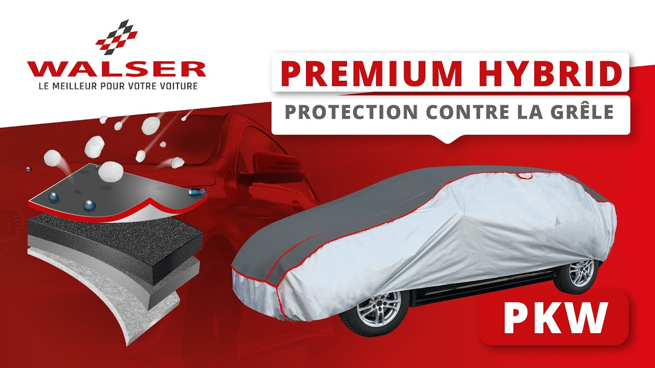Aperçu: Bâches anti-grêle Premium SUV Hybrid taille S