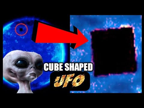 UFO sighting: 'Alien cube ship' TEN TIMES bigger than Earth captured by NASA
