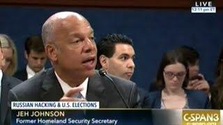 RUSSIA DID IT! Homeland Security Head Johnson