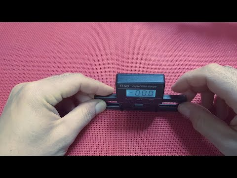TL90 Digital Pitch Gauge For RC Helicopter- REVIEW