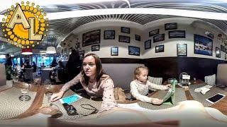 Видео 360 градусов Сочи 🇷🇺  В кафе Del Mar