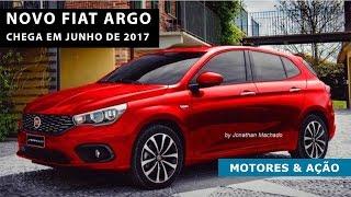 Novo Fiat Argo chega em junho de 2017