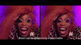 Monique Heart   Brown Cow Stunning (Lyrics Video)  ALL STARS 4