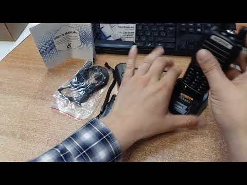 Видео обзор рации Baofeng UV-82 - 8W