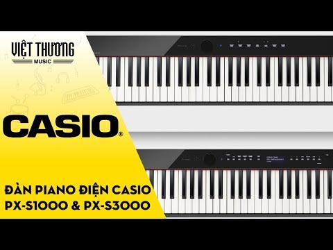 CASIO Privia PX-S1000 vs CASIO PX S3000
