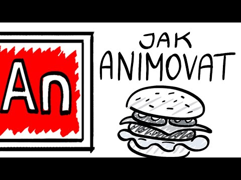 Jak animovat v Adobe Animate | Běžící hamburger | Tipy a triky