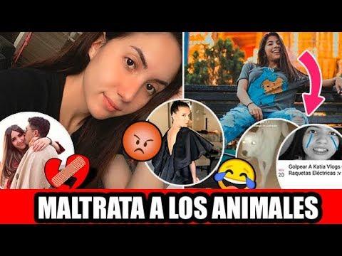 Katia Vlogs MALTRATA A LOS ANIMALES y se unen para GOLPEARLA   Carolina Díaz sigue extrañando a Rizo