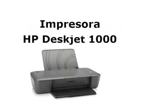 Instalar Impresora HP Deskjet 1000