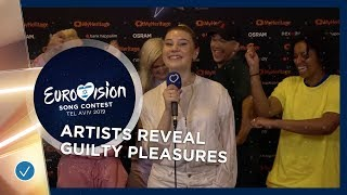 Eurovision Artists reveal their Guilty Pleasure Songs! - Eurovision 2019