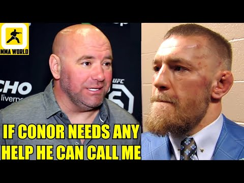 Dana White reacts to Conor McGregor latest arrest in France for alleged 'indecent exposure',Waterson