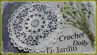 Crochet Lace Doily Pattern | Crochet Doily *Le Jardin*