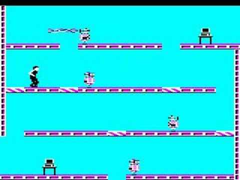 BBC Micro game Impossible Mission