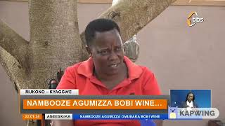 HON  BETTY NAMBOOZE BLASTS BOBI WINE IN FAVOR OF KIIZA BESIGYE