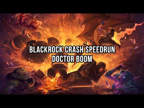 Blackrock Crash Speedrun - Doctor Boom
