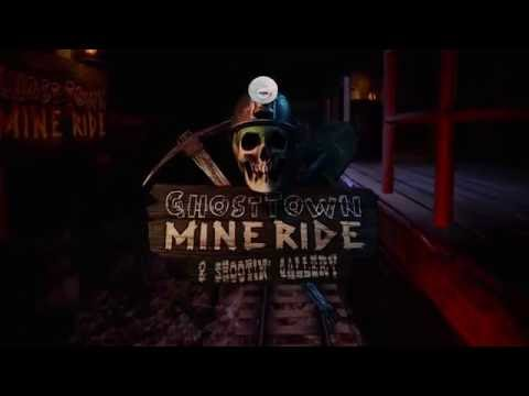 """Ghost Town Mine Ride & Shootin' Gallery"" Trailer Vive VR Horror thumbnail"